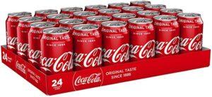 Coca Cola Original Taste 24 x 330ml Cans